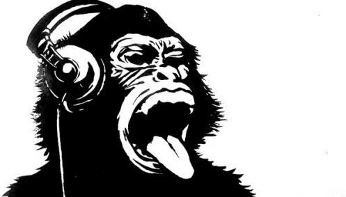 Ape_too_loves_music_by_Yann_L