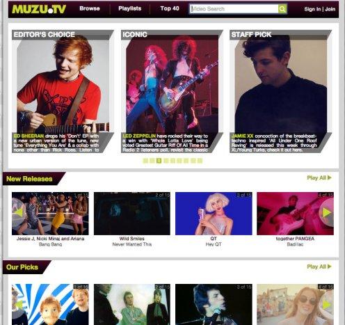 muzu homepage