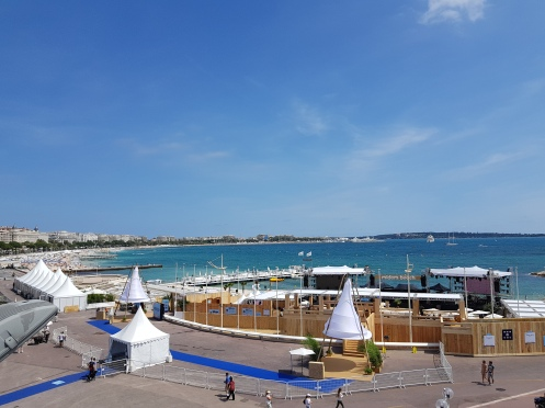 midem 2018 beach at day
