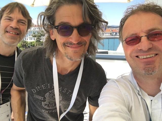 Peter, Richard and I